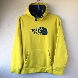 North Face Hazard Yellow Fleece Lined Hoodie Ski